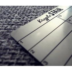 KryptoStahl Steel Plate -...