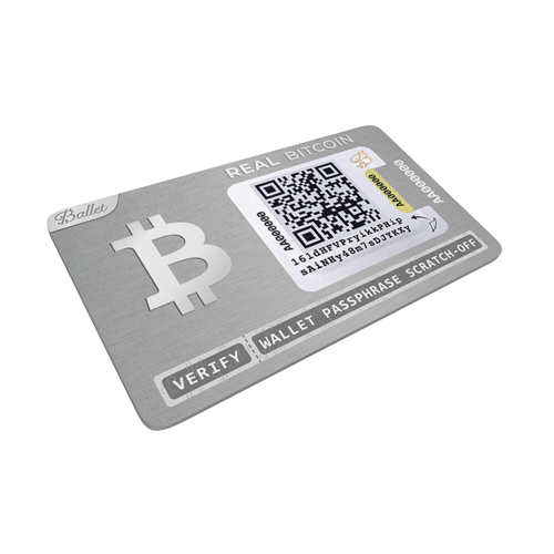 Ballet Real Series Bitcoin Hardware Wallet