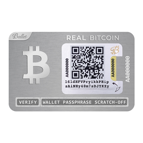 Ballet Real Series - Multicoin Hardware Wallet