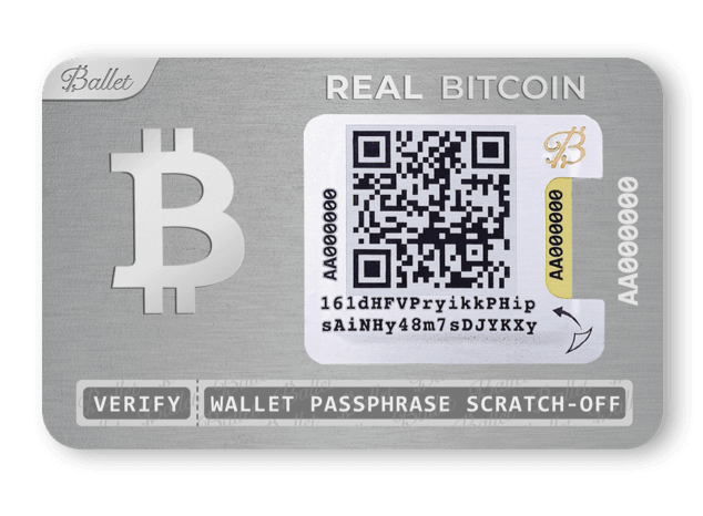 Sichere Bitcoin Wallet